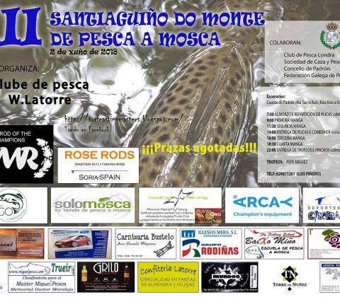 XII SANTIAGUIÑO DO MONTE DE PESCA A MOSCA